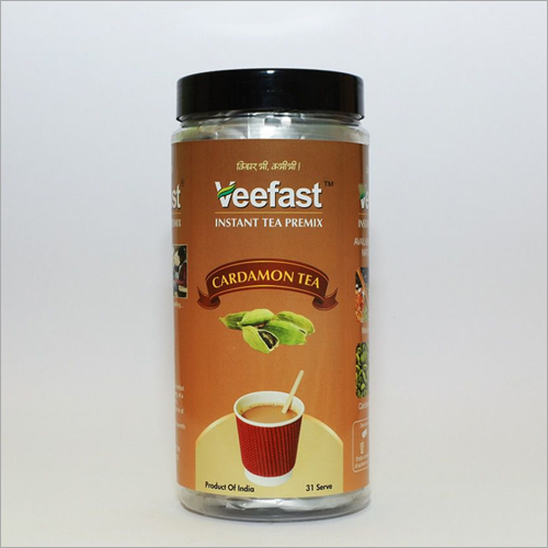 Aromatic Tea Premix CARDAMOM(elaichi) Packed In 500g PET Jar
