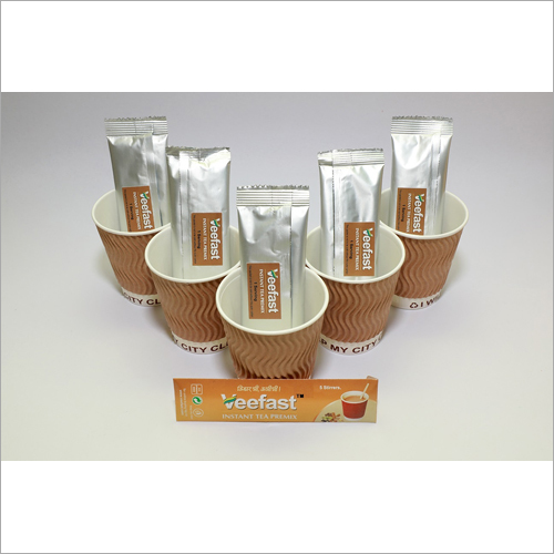 Ginger Tea with 5 sachets of tea premix, 5 insulated cups to serve and 5 stirrers to mix