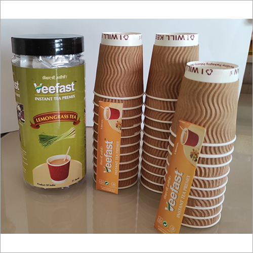 Lemon Grass Tea with 31 serves, 32 Insulated Cups and 32 stirrers to mix