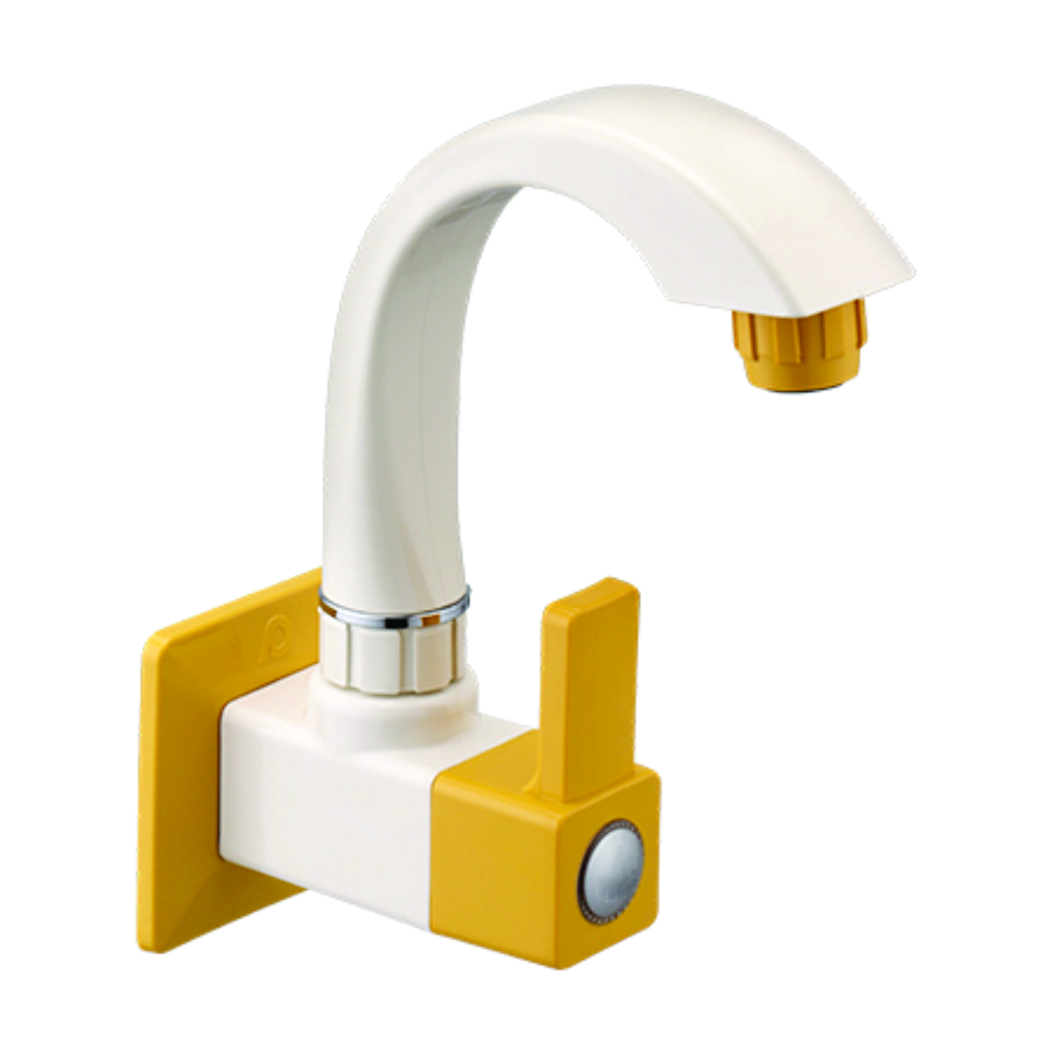 Swan Neck Tap Ptmt Square