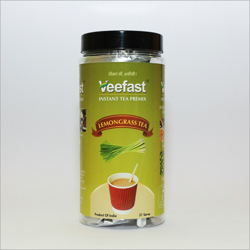 Lemon Grass Tea with 31 serves and 32 stirrers to mix