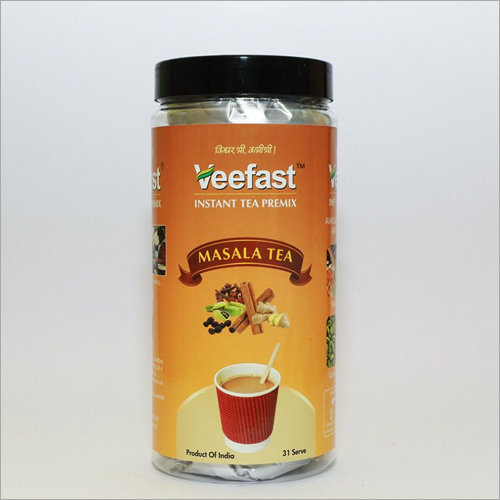 Masala Tea with 31 serves and 32 stirrers to mix