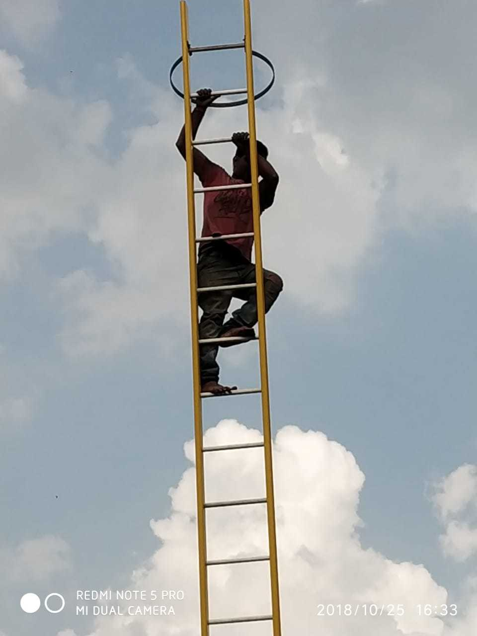 Frp Self Support Extension Ladder