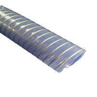 Stainless Steel (Inox) wire reinforced Bio- based Transparent Thunder Hose