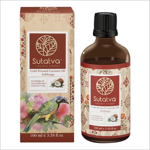 100 ml Ayurvedic Cold Pressed Coconut Oil