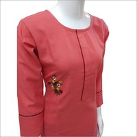 Ladies Casual Cotton Kurtis