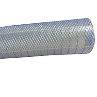 High Pressure TPE Stainless Steel Inox Wire Transparent High