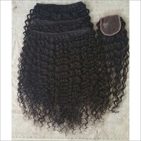 Steam Curly Single Donor Temple Donated Hair