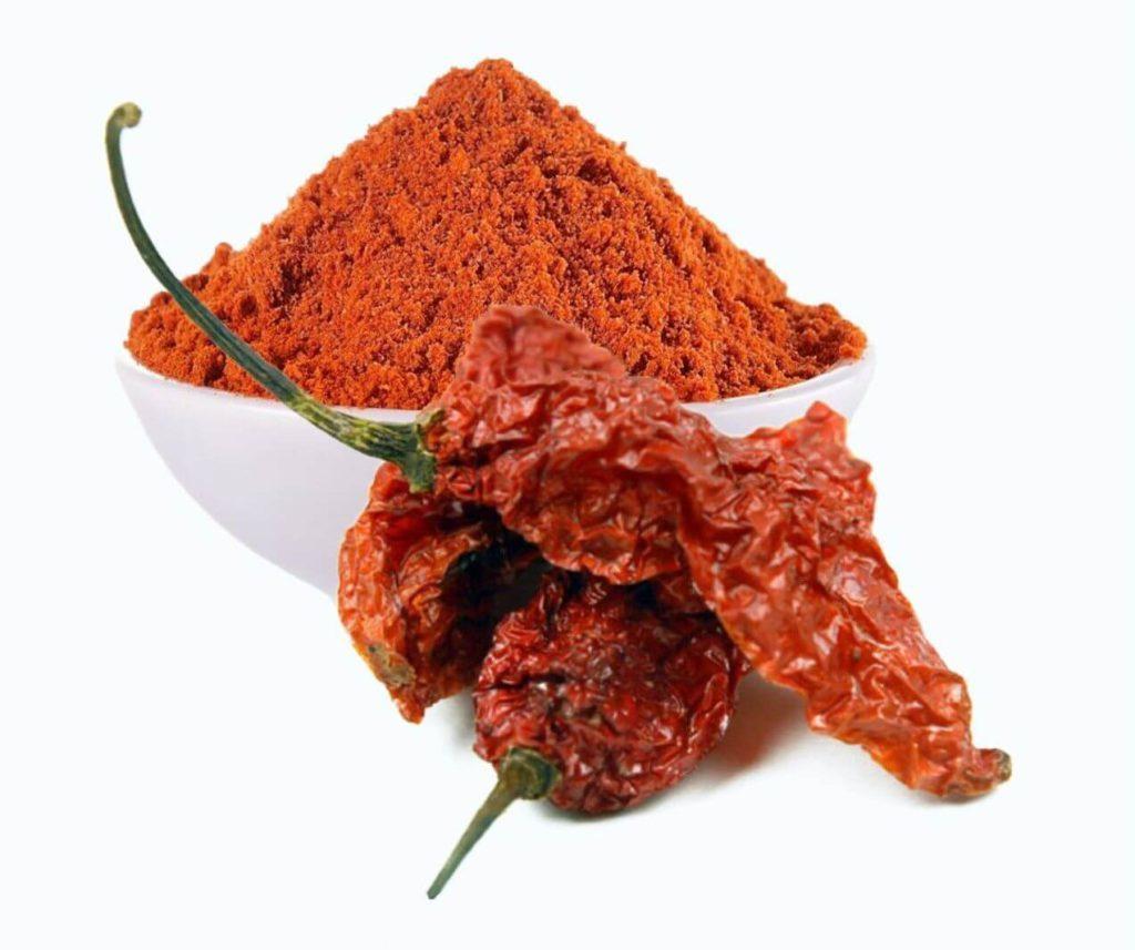 Oven Dried Bhut Jolokia Pepper Powder