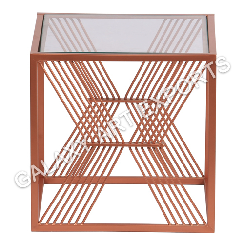 Glass Nesting Tables Set of 2