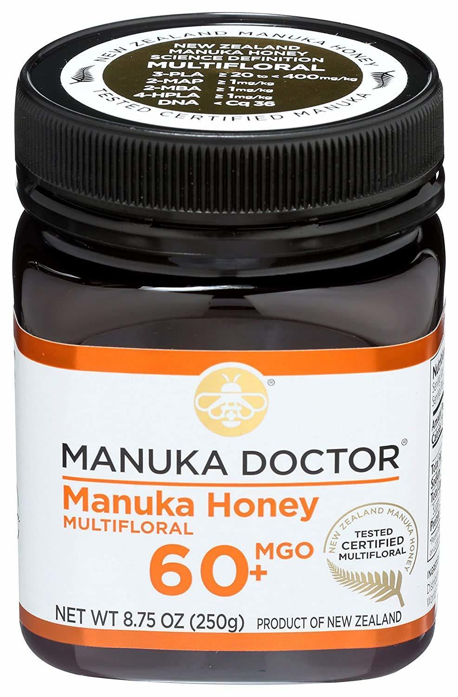 Manuka Doctor, 60+ Bio Active Manuka Honey, 8.75 Oz (250 G)