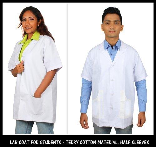 Terry Cotton Lab Coat