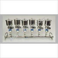 6 Brach 300ml Manifold Filtration System