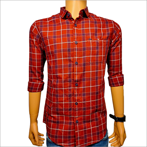 Mens Formal Check Shirt