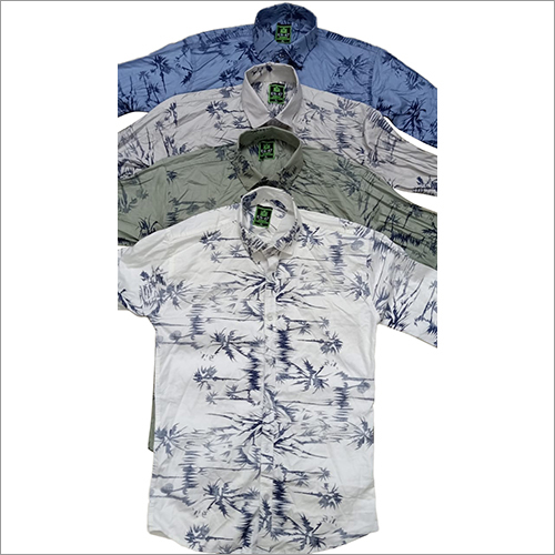 Mens Partywear Printed Shirts