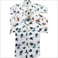 Mens Floral Printed Shirt