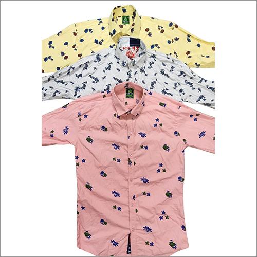 Mens Summer Printed Shirt