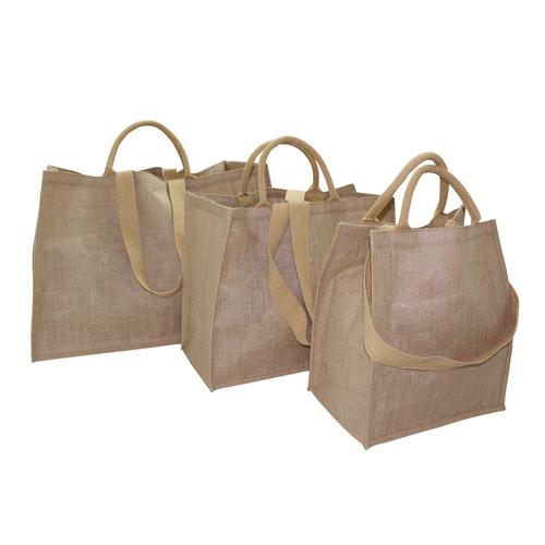Pp Laminated Jute Shopping Bag