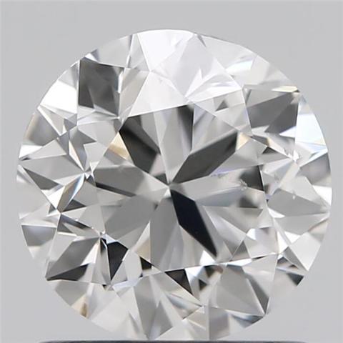 Round Brilliant Cut Lab Grown 1.01ct E VS2 IGI Certified Diamond 407916564