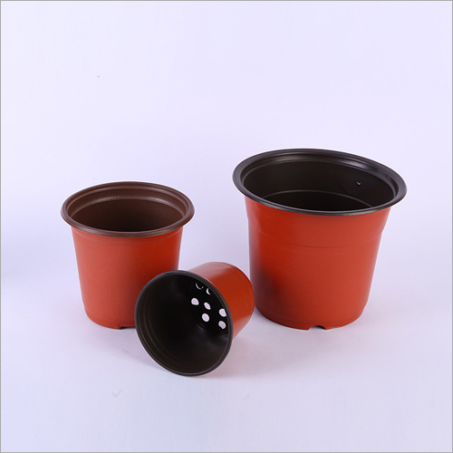 AB Double Colored Light Weight Thin Small Cheap Plastic Flower Pots