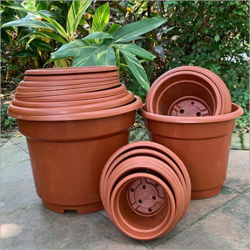 AB Reversed Edge Trational Plastic Flower Pots