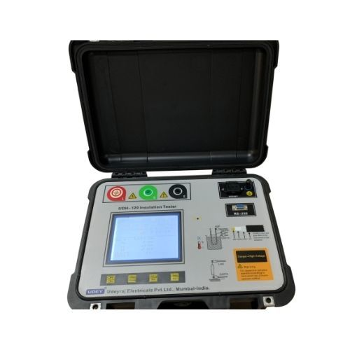Udh-120 Insulation Resistance Tester 12 Kv Insulation Resistance Tester Udey Test Kits