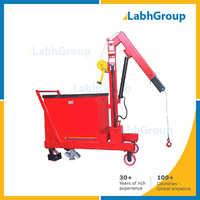 Electric Hydraulic Mobile Floor Crane
