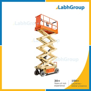 Movable High Rise Scissor Lift Table