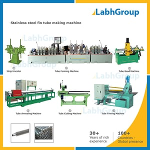 Stainless Steel Fin Tube Making Machine