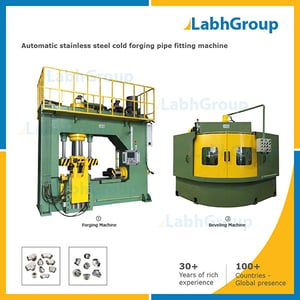 Stainless Steel Cold Forging Pipe Fitting Machine