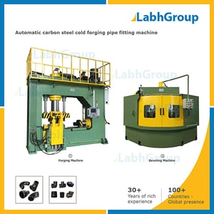 Carbon Steel Cold Forging Pipe Fitting Machine