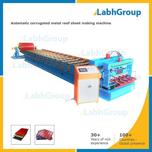 Automatic Corrugated Metal Roof Sheet Making Machine