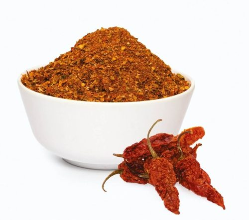 SMOKE DRIED BHUT JOLOKIA CHILLI PEPPER FLAKES