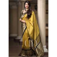 Ladies Designer Soft Banarasi Saree
