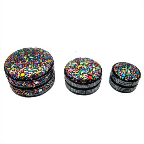 Lac Glitter Trinket Box