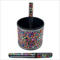 Lac Glitter Pen Holder