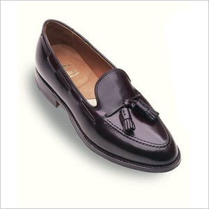 Shell Cordovan Tassel Moccasins Shoes