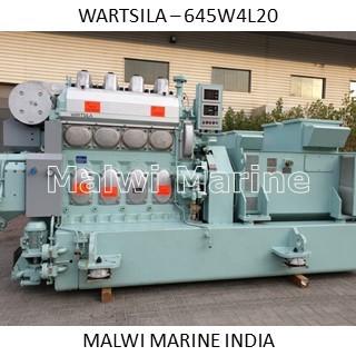 WARTSILA W4L20 NEW Generator, Diesel Engine and parts