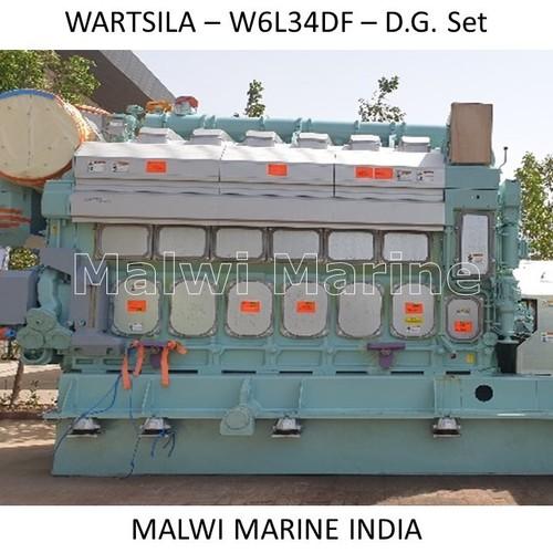 WARTSILA W6L34DF GENERATOR, ENGINE, PARTS