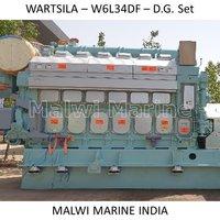Wartsila-16V34-12V34-9L34-8L34-6L34SG-6L34DF DIESEL GENERATOR ENGINE