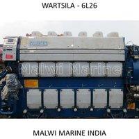 Wartsila-6L26A-12V26-9L26-8L26 MARINE DIESEL ENGINE