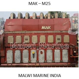 MAK 8M25 Marine Diesel Engine