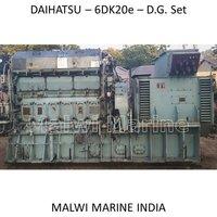 DAIHATSU-8DK20-6DK20e-6DK20-5DK20e-5DK20 DIESEL Generator Engine