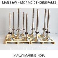 Man B&w Mc Mc-c Liner Cover Valve Crown Parts