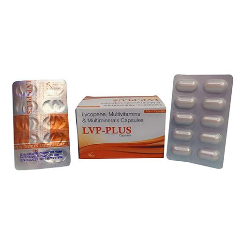 Lycopene, Multivitamins & Multiminerals Capsules