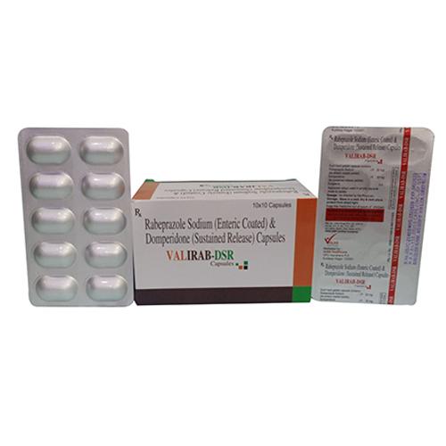 Raheprazole Sodium (Enteric Coated) & Domperidone (Sustained Release) Capsules