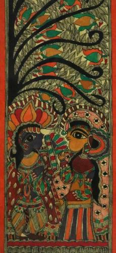 Amorous Couple Painting