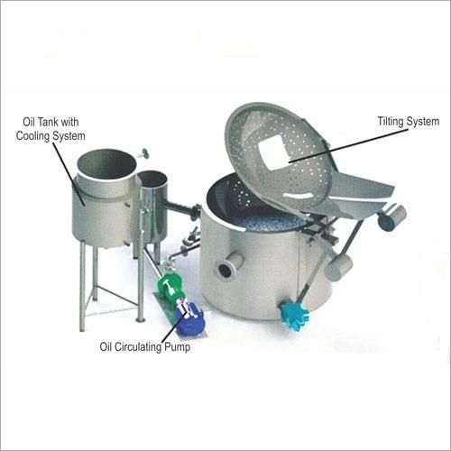 Circular Fryer with Heat Exchanger