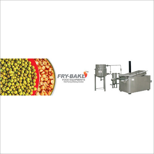 Rectangular Fryer With Heat Exchanger