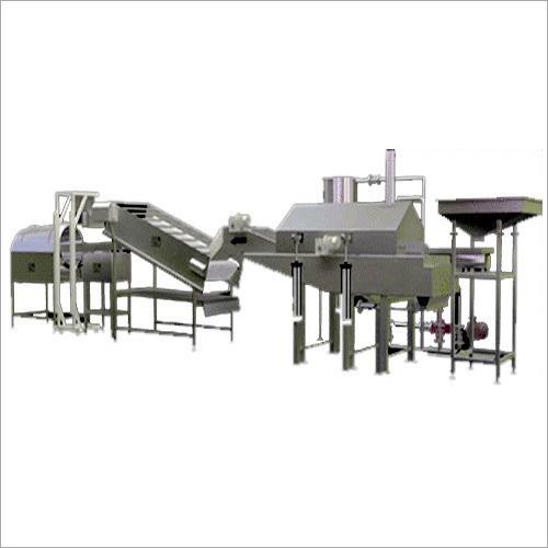 Fryums Pellet Frying Line